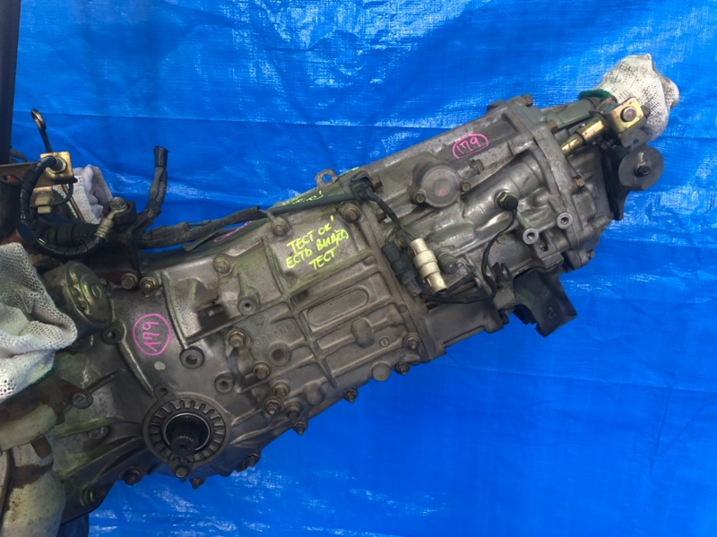 Мкпп Subaru Legacy B4 BE5 EJ208 2000 TY754VBACA (б/у)