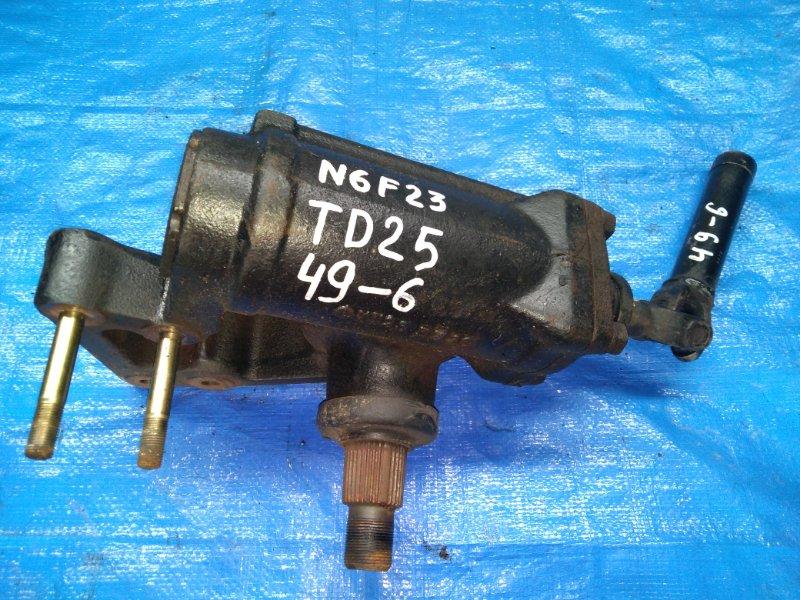 Рулевой редуктор Nissan Atlas N6F23 TD25 (б/у)