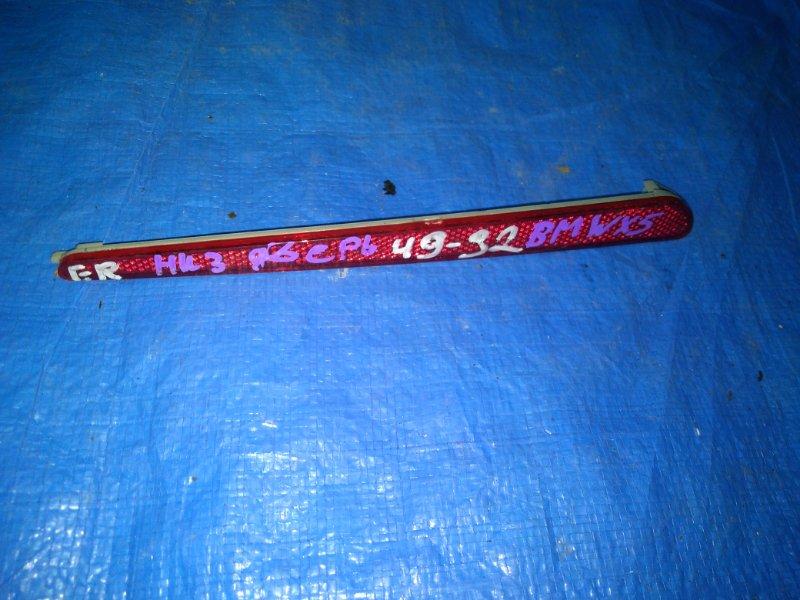 Катафот Bmw X5 E53 M54B30 1999 задний правый (б/у)