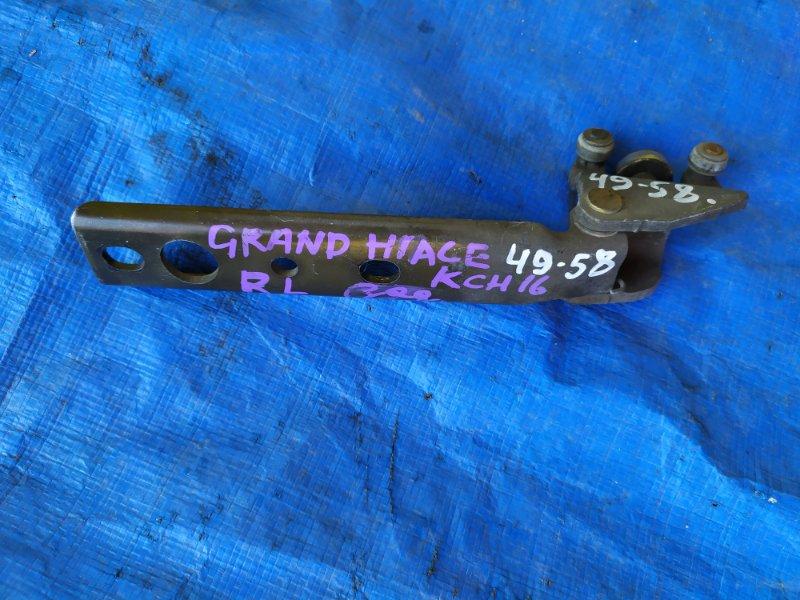Ролик двери Toyota Grand Hiace VCH10W задний левый (б/у)