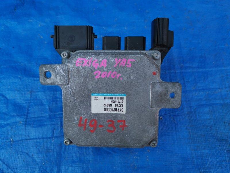 Блок управления рулевой рейкой Subaru Exiga YA5 34710YC000 (б/у)