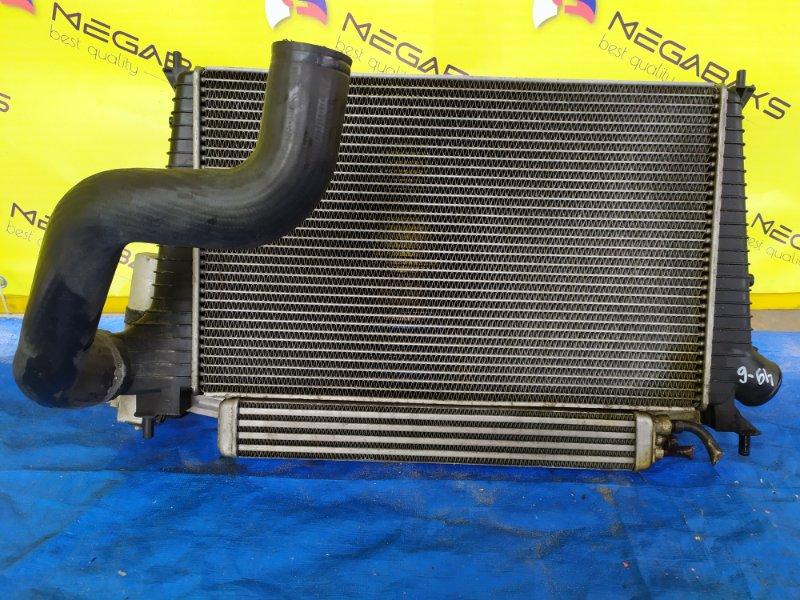 Радиатор интеркулера Saab 9-5 YS3E B235R 2004 (б/у)