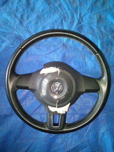 Руль Volkswagen Polo MK5 CBZB 2012 (б/у)