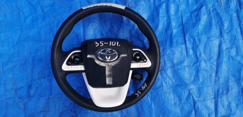 Руль Toyota Prius Prime ZVW52 2ZR-FXE (б/у)
