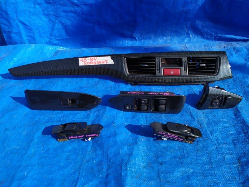 Пластик салона Mitsubishi Lancer CS5W 4G15 RALLI ART (б/у)