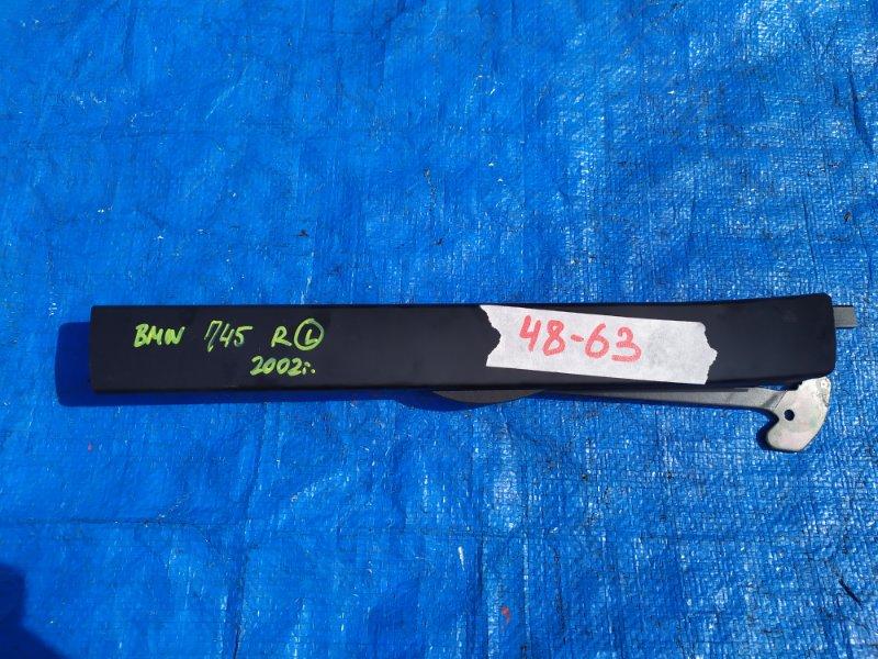 Шторка окна Bmw 7-Series E65 N62B44A 2002 задняя левая (б/у)