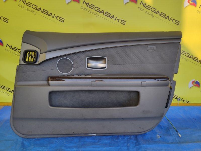 Обшивка дверей Bmw 7-Series E65 N62B44A передняя правая (б/у)
