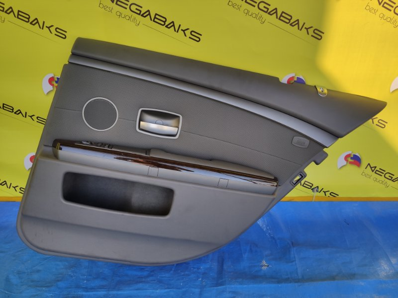 Обшивка дверей Bmw 7-Series E65 N62B44A задняя правая (б/у)