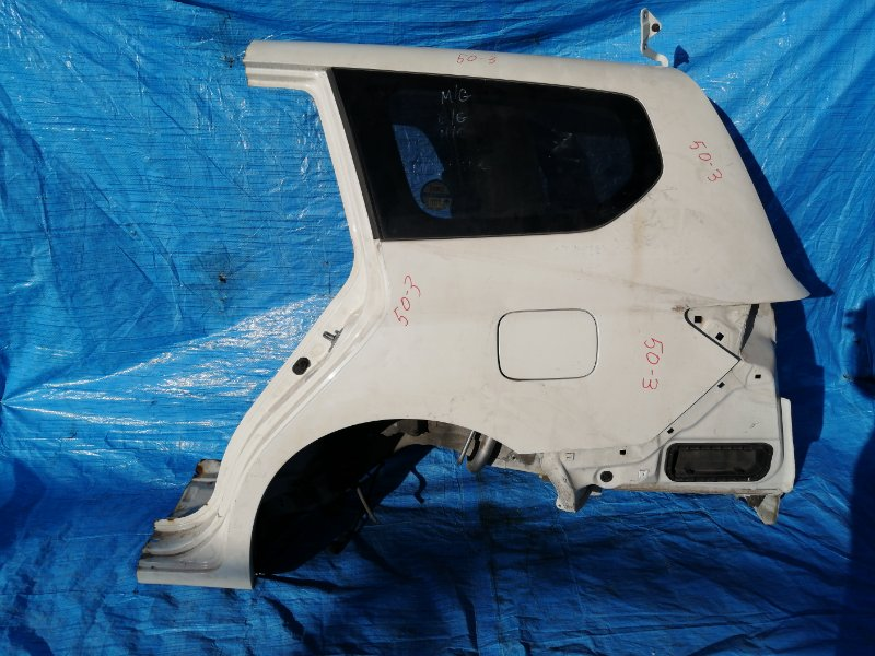 Стекло собачника Honda Odyssey RB3 K24A левое (б/у)