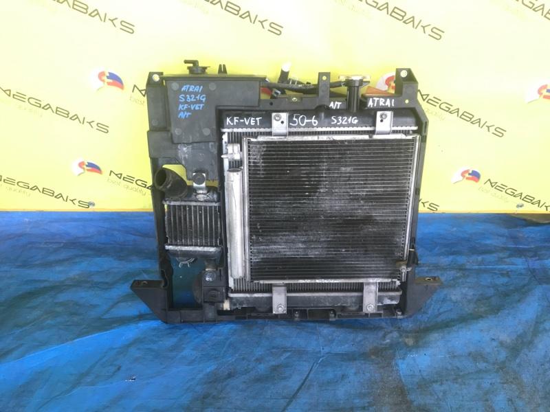 Радиатор основной Daihatsu Atrai S320G KF-VET (б/у)