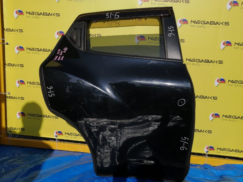 Дверь Nissan Juke F15 HR15DE 2011 задняя правая (б/у)