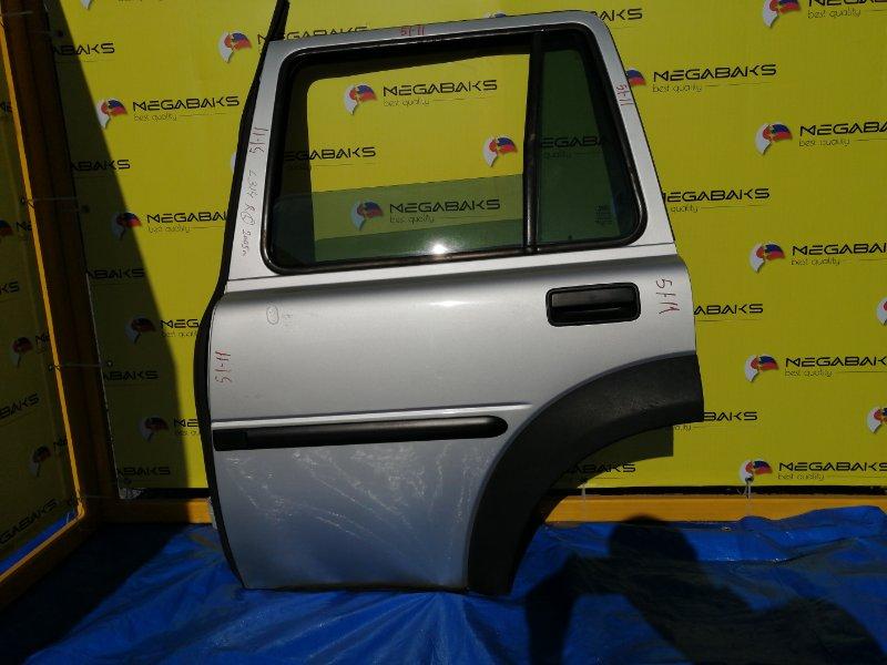 Дверь Land Rover Freelander L314 25K4F 2005 задняя левая в сборе как на фото (б/у)