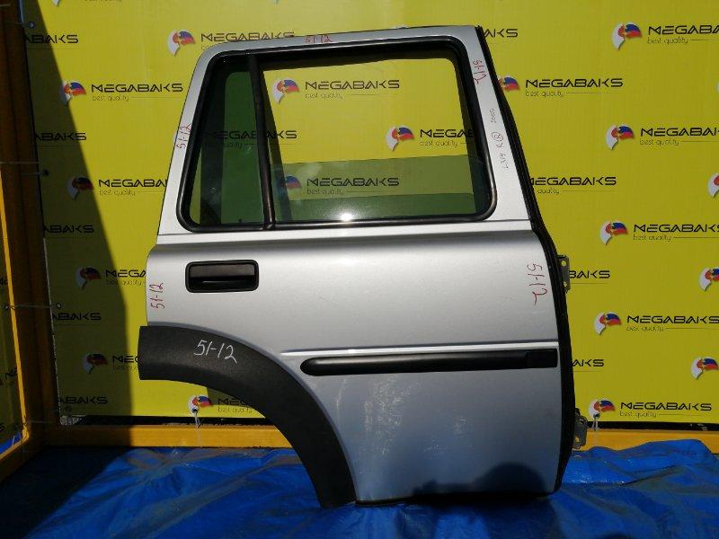 Дверь Land Rover Freelander L314 25K4F 2005 задняя правая в сборе как на фото (б/у)