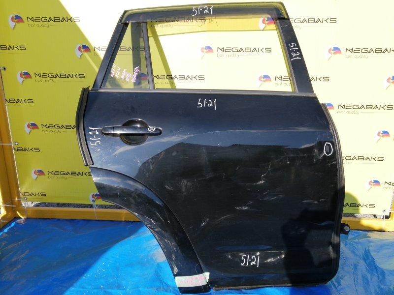Дверь Toyota Rav4 ACA31W 2AZ-FE задняя правая фендеровый (б/у)