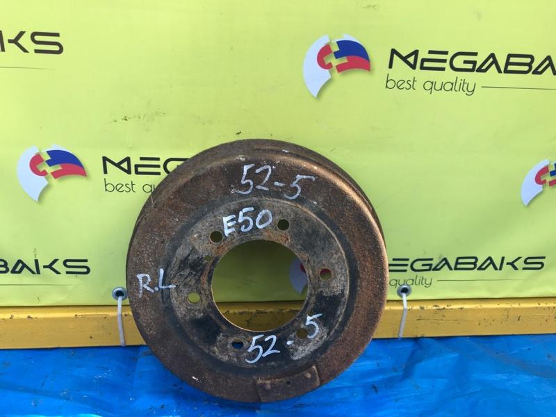 Тормозной барабан Nissan Elgrand ALWE50 VG33DE задний левый (б/у)