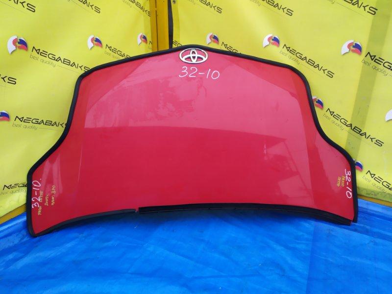 Капот Toyota Passo Sette M502E 3SZVE 2007 (б/у)