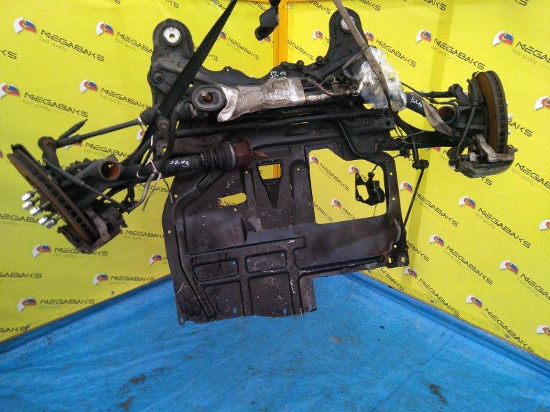 Защита двигателя Audi Tt 8N BHE 2005 передняя (б/у)