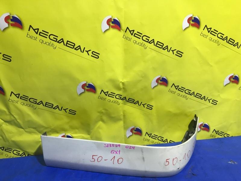 Накладка на бампер Nissan Serena PC24 задняя (б/у)