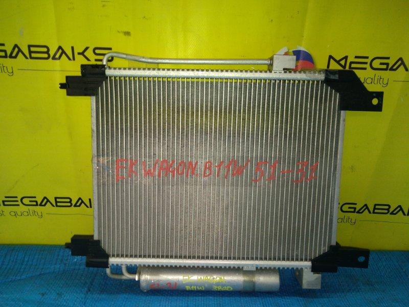 Радиатор кондиционера Mitsubishi Ek Wagon B11W 3B20 (б/у)