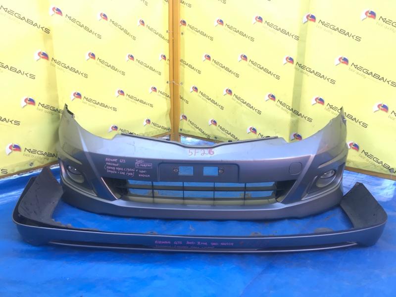 Бампер Honda Airwave GJ1 передний II MODEL (б/у)