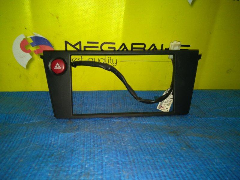 Консоль магнитофона Subaru Legacy BP5 EJ20 (б/у)