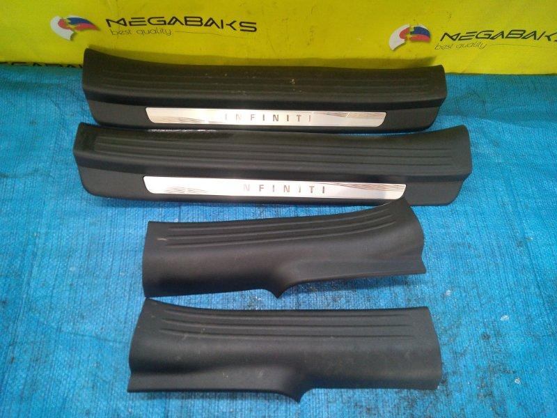Порожек пластиковый Infiniti Qx50 J55 KR20DDET передний левый (б/у)
