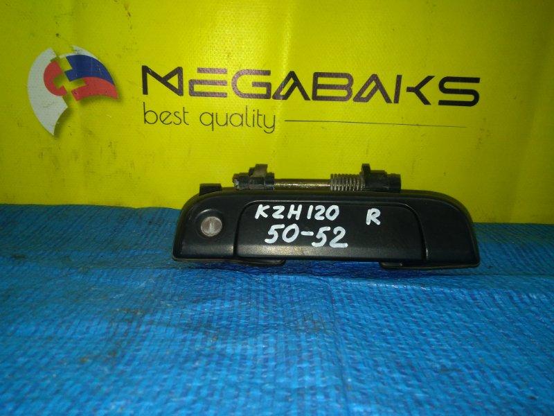 Ручка двери Toyota Hiace KZH120 передняя правая (б/у)