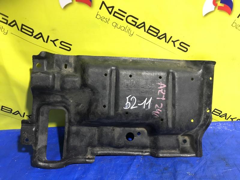 Защита двигателя Toyota Caldina AZT246 1AZ-FE левая (б/у)