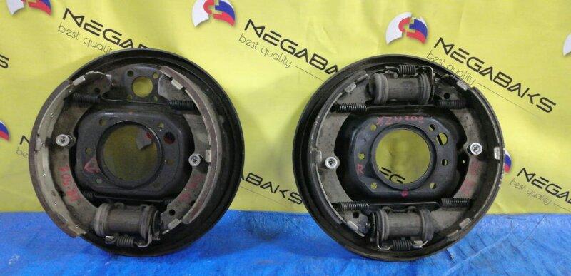 Колодки тормозные Toyota Dyna XZU302 задние (б/у)