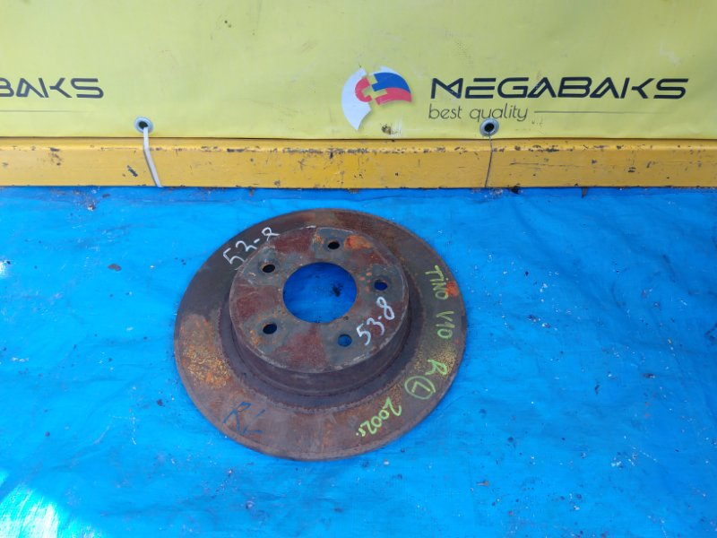 Тормозной диск Nissan Tino V10 QG18DE задний левый (б/у)
