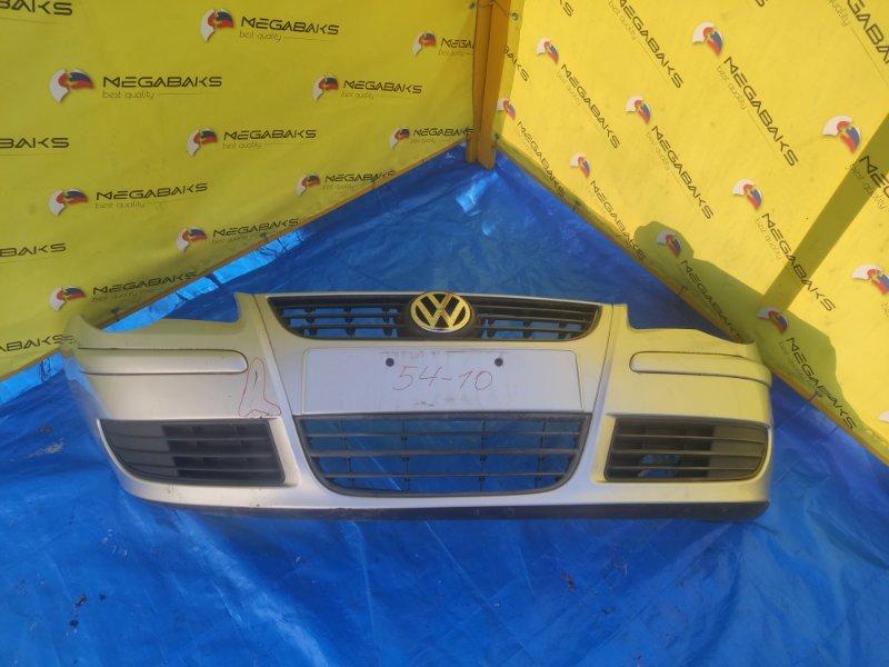 Бампер Volkswagen Polo MK4 2005 передний (б/у)