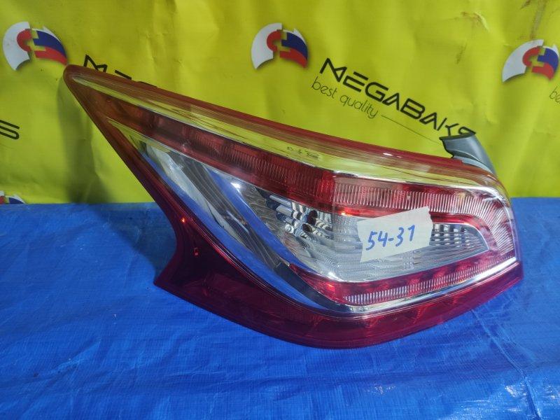 Стоп-сигнал Nissan Teana L33 левый 220-17791 (б/у)