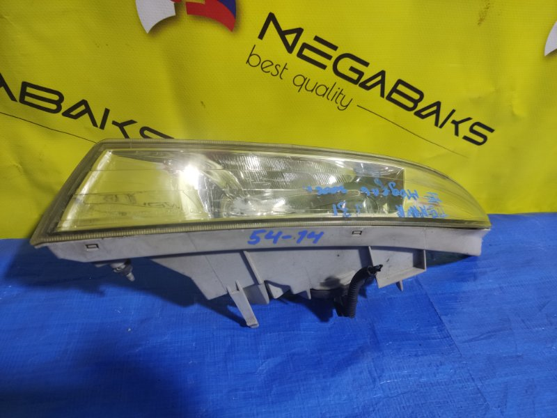 Туманка Nissan Teana J31 левая 114-63850 (б/у)