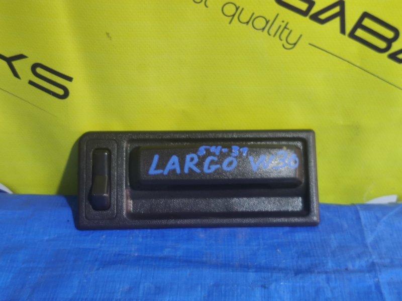 Ручка двери внутренняя Nissan Largo W30 задняя левая (б/у)