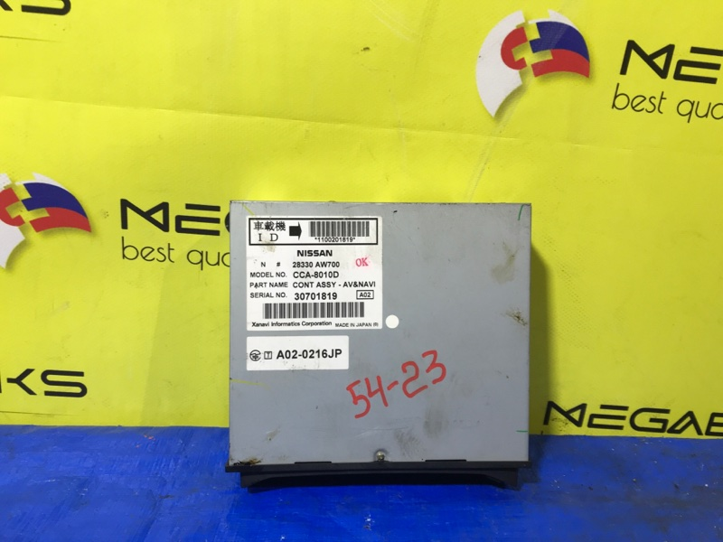 Блок управления навигацией Nissan Primera WTP12 QR20DE (б/у)