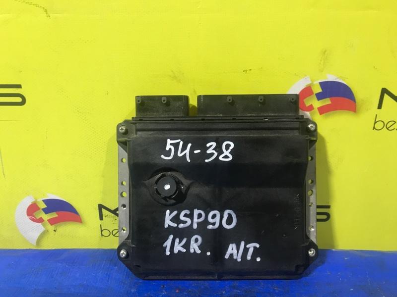 Блок efi Toyota Belta KSP92 1KR-FE (б/у)