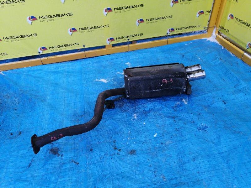 Глушитель Nissan Fairlady GZ32 VG30 задний (б/у)