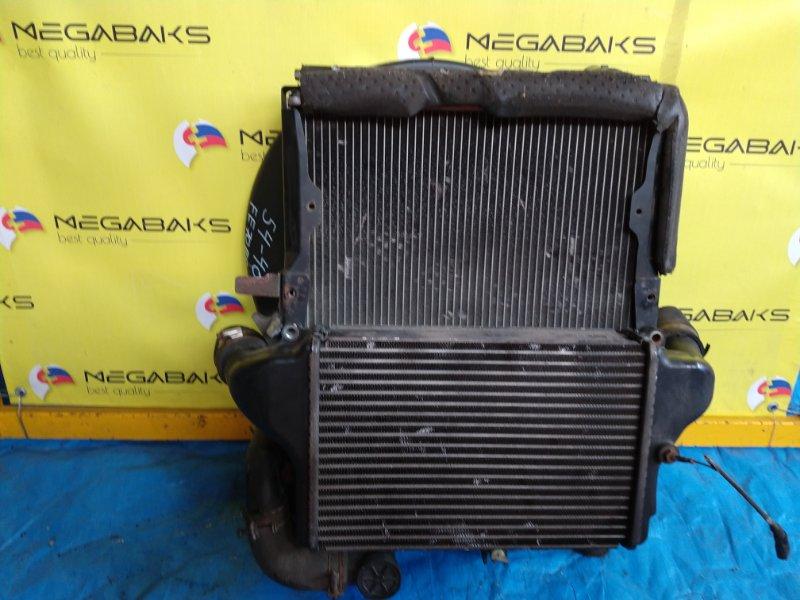 Радиатор интеркулера Mitsubishi Canter FE70BS 4M42 (б/у)