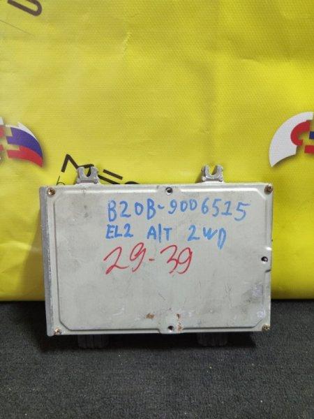 Блок efi Honda Orthia EL2 B20B 37820-P7J-J81 (б/у)