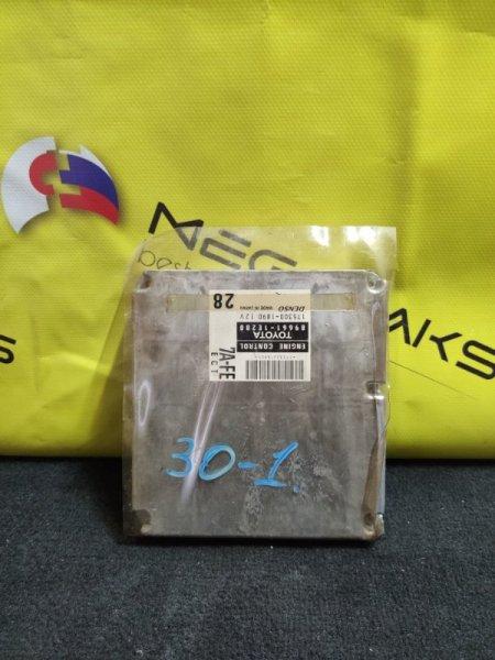 Блок efi Toyota Sprinter AE115 7A-FE 89661-1E280 (б/у)
