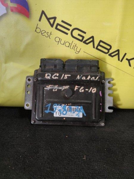 Блок efi Nissan Bluebird Sylphy FG10 QG15DE A56-W28 (б/у)