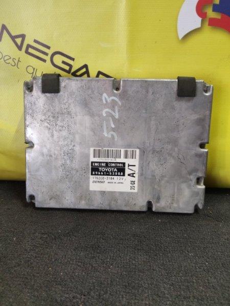Блок efi Toyota Altezza SXE10 3S-GE 89661-53080 (б/у)