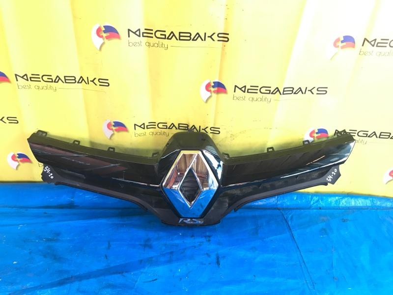 Решетка радиатора Renault Megane III F4R874 2014 (б/у)