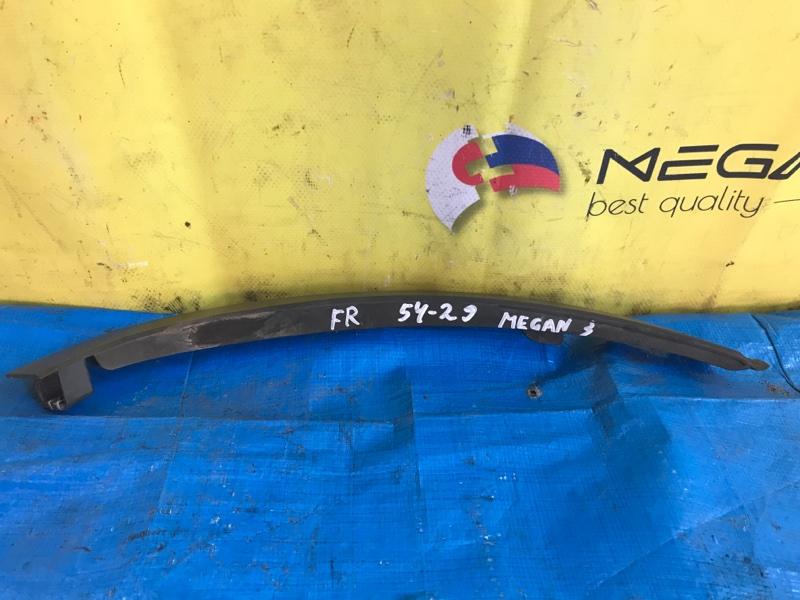 Планка под фары Renault Megane III F4R874 2014 передняя правая (б/у)