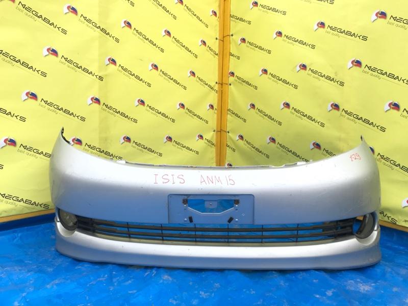Бампер Toyota Isis ANM15 передний I MODEL (б/у)
