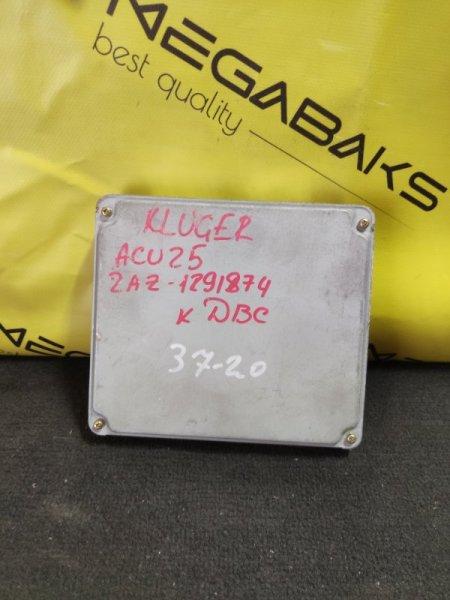 Блок efi Toyota Kluger ACU25 2AZ-FE (б/у)