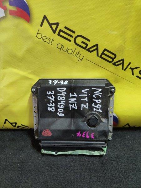 Блок efi Toyota Vitz NCP91 1NZ-FE 89661-52G10 (б/у)