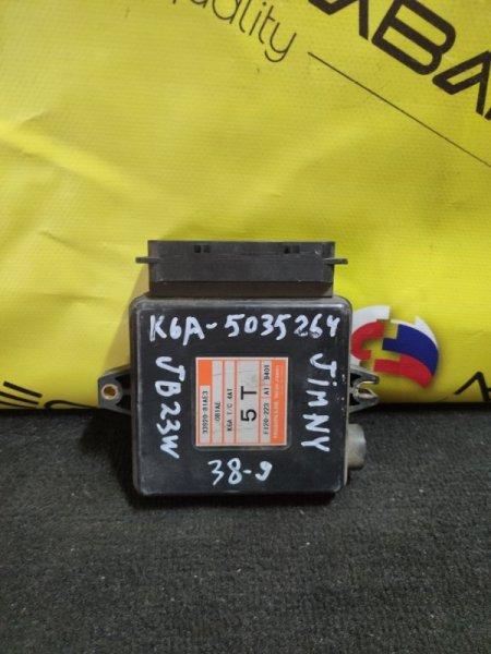 Блок efi Suzuki Jimny JB23 K6A F120-223 (б/у)