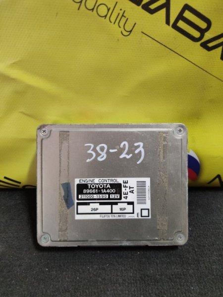 Блок efi Toyota Sprinter EE111 4E-FE 89661-1A400 (б/у)