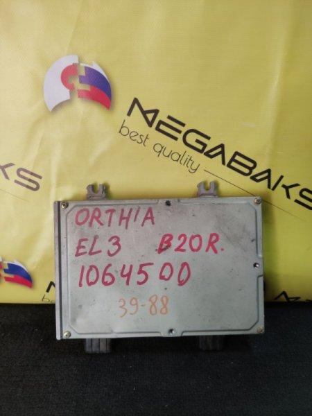 Блок efi Honda Orthia EL3 B20B 37820-P7J-J91 (б/у)